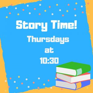 story time thurs 1030