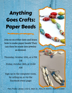 Anything Goes Crafts_ Paper Beads
