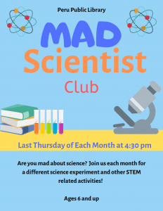 mad scientist flyer