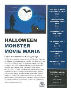 monster movie mania poster_0001