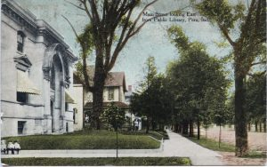 1914 Sideview of the Library
