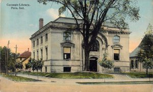 1914 (used!) postcard of the library