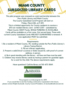 2019 - COUNTY SUBSIDIZED INDIVIDUAL LIBRARY CARDS (1)